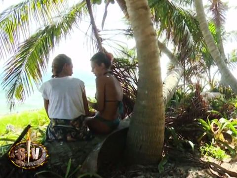 Woody plant, People in nature, Arecales, Vacation, Terrestrial plant, Sunlight, Tropics, Trunk, Jungle, Palm tree,