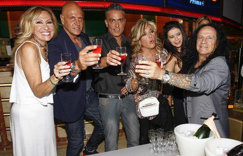 Face, Smile, Alcohol, Barware, Alcoholic beverage, Drink, Distilled beverage, Liqueur, Drinking, Party,