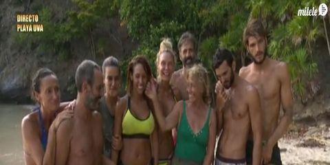 Nature, Fun, People, Swimwear, Human body, Social group, Brassiere, Swimsuit top, Photograph, Swimsuit bottom,