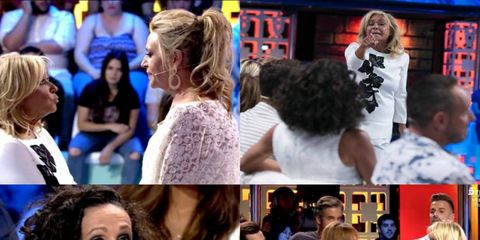 Hair, Collage, Neck, Audience, Long hair, Makeover, Feathered hair, Layered hair, Hair coloring, Active tank,