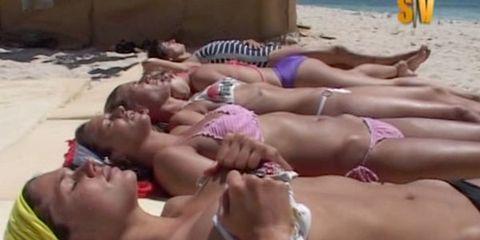 Clothing, Fun, Photograph, Swimwear, Summer, Bikini, Brassiere, Swimsuit bottom, Undergarment, Thigh,