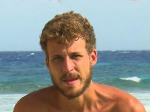 Barechested, Hair, Face, Facial expression, Vacation, Fun, Surfer hair, Summer, Head, Chin,