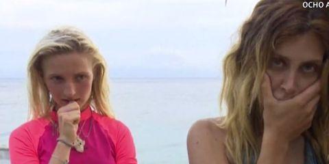 Hair, Blond, Fun, Chin, Surfer hair, Summer, Vacation, Lip, Friendship, Sitting,