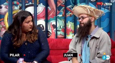Facial hair, Beard, Headgear, Fun, Cool, Television program, Long hair, Conversation,
