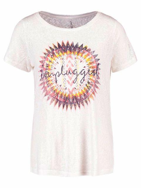Product, Sleeve, Shirt, White, T-shirt, Purple, Neck, Lavender, Active shirt, Top,
