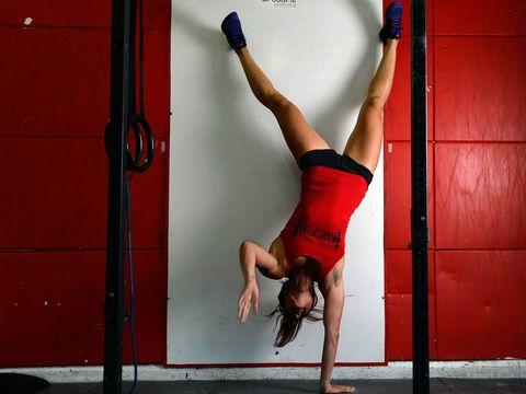 Leg, Human leg, Elbow, Joint, Wrist, Red, Knee, Thigh, Waist, Muscle,