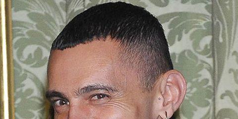 Head, Ear, Lip, Cheek, Hairstyle, Collar, Dress shirt, Chin, Forehead, Eyebrow,