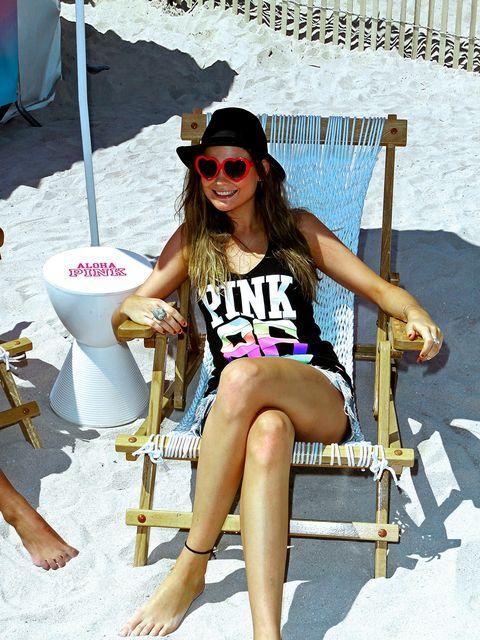 Sunglasses, Vacation, Cool, Leg, Summer, Bikini, Eyewear, Sitting, Spring break, Shorts,