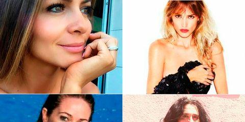 Hair, Lip, Hairstyle, Skin, Chin, Shoulder, Eyebrow, Facial expression, Beauty, Eyelash,