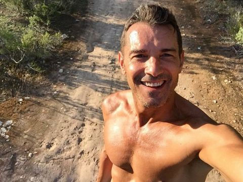 Barechested, Muscle, Adventure, Human, Selfie, Photography, Chest, Hiking, Smile,