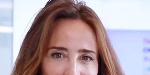 Hair, Face, Eyebrow, Hairstyle, Brown hair, Chin, Beauty, Skin, Lip, Nose,