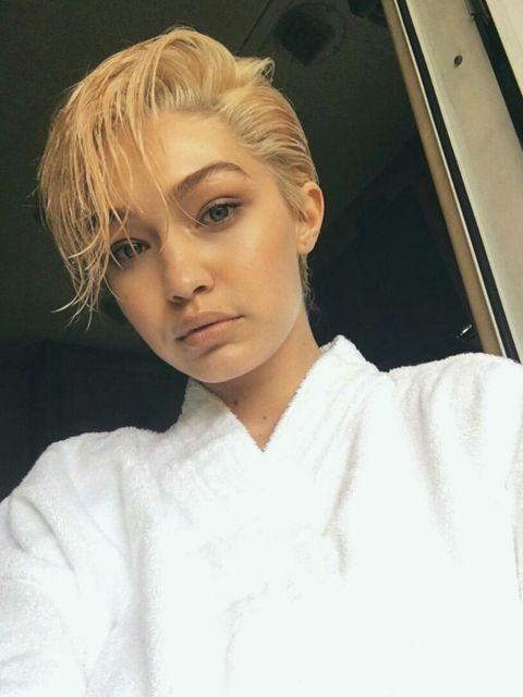 Hair, Face, Hairstyle, Blond, Eyebrow, Forehead, Chin, Bob cut, Crop, Brown hair,