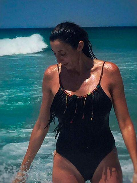 Body of water, Fun, Human body, Swimwear, Summer, Beauty, One-piece swimsuit, Thigh, Aqua, Chest,