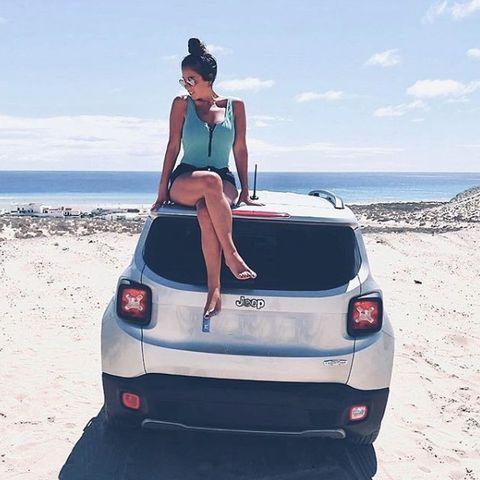 Automotive design, Vehicle, Car, Coastal and oceanic landforms, Automotive exterior, Automotive tail & brake light, Bumper, Hatchback, Trunk, Tourism,
