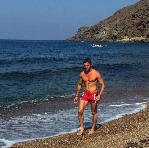 Beach, Barechested, Vacation, Sea, Summer, Ocean, Coast, Muscle, Fun, Sky,