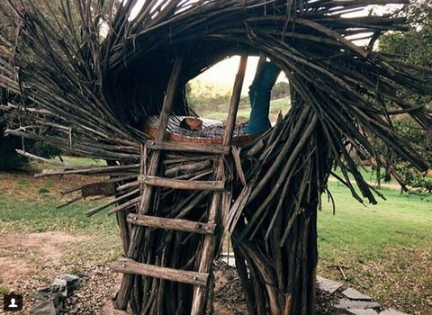 Environmental art, Trunk, Village,