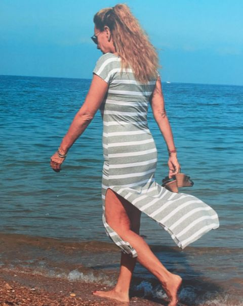 White, Sea, Vacation, Summer, Beauty, Dress, Blond, Ocean, Leg, Beach,