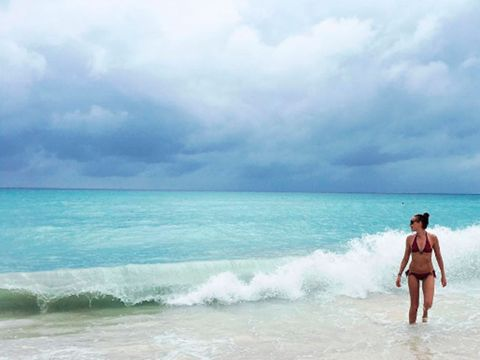 Sky, Beach, Sea, Ocean, Wave, Vacation, Horizon, Wind wave, Coast, Summer,