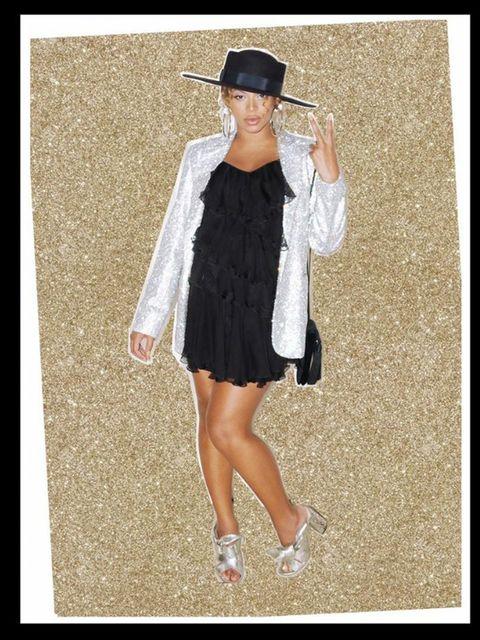 Clothing, Fashion, Dress, Outerwear, Footwear, Street fashion, Headgear, Sleeve, Shoe, Photography,