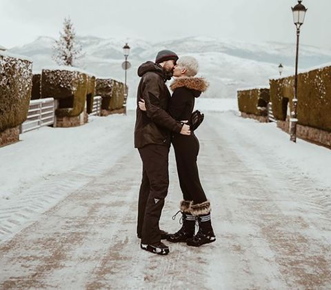Photograph, Snow, Winter, Fashion, Interaction, Footwear, Photography, Freezing, Love, Romance,