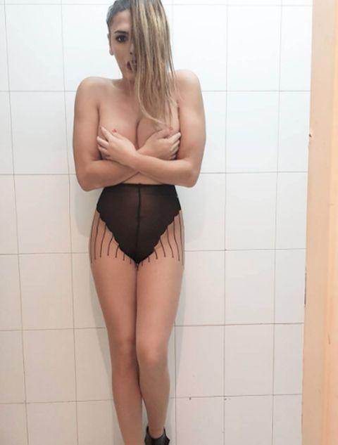 Clothing, Blond, Thigh, Leg, Lingerie, Beauty, Skin, Model, Undergarment, Joint,