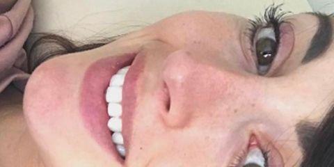 Face, Skin, Nose, Lip, Close-up, Eyebrow, Head, Cheek, Mouth, Organ,