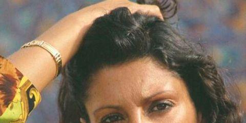 Nose, Lip, Hairstyle, Chin, Forehead, Eyebrow, Jewellery, Wrist, Eyelash, Black hair,