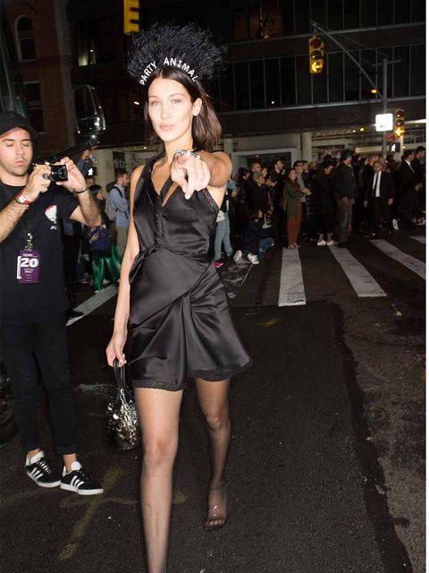 Fashion model, Clothing, Fashion, Leg, Dress, Snapshot, Fashion show, Little black dress, Thigh, Event,