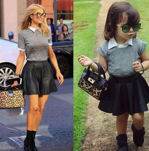 Clothing, Brown, Outerwear, Bag, Fashion accessory, Style, T-shirt, Street fashion, Fashion, Pattern,