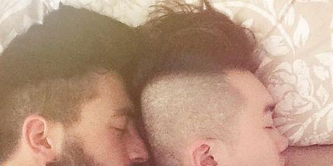 Head, Ear, Nose, Human, Cheek, Comfort, Skin, Forehead, Facial hair, Sleep,