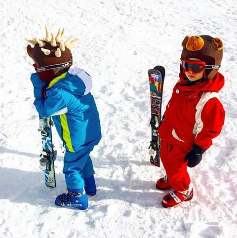 Winter, Recreation, Winter sport, Snow, Outdoor recreation, Personal protective equipment, Headgear, Goggles, Playing in the snow, Ski,