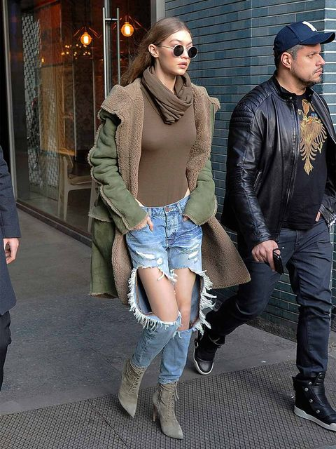 Clothing, Footwear, Leg, Cap, Trousers, Human body, Denim, Jacket, Textile, Outerwear,