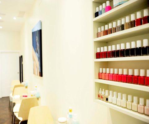 Shelf, Shelving, Beige, Collection, Bottle, Paint, Peach, Personal care,
