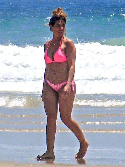Water, Swimwear, Summer, Brassiere, Beach, People in nature, Waist, Chest, Beauty, Undergarment,