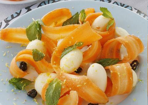 Receta:Ensalada de zanahorias baby y patatas