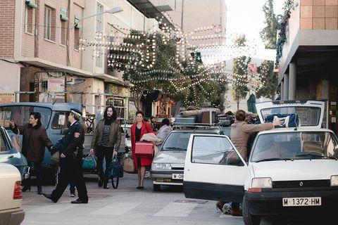 Vehicle, Car, Mode of transport, Transport, Snapshot, Street, Town, Urban area, Traffic, City car,