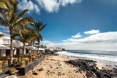 Sky, Beach, Tree, Shore, Palm tree, Sea, Coast, Ocean, Cloud, Tropics,