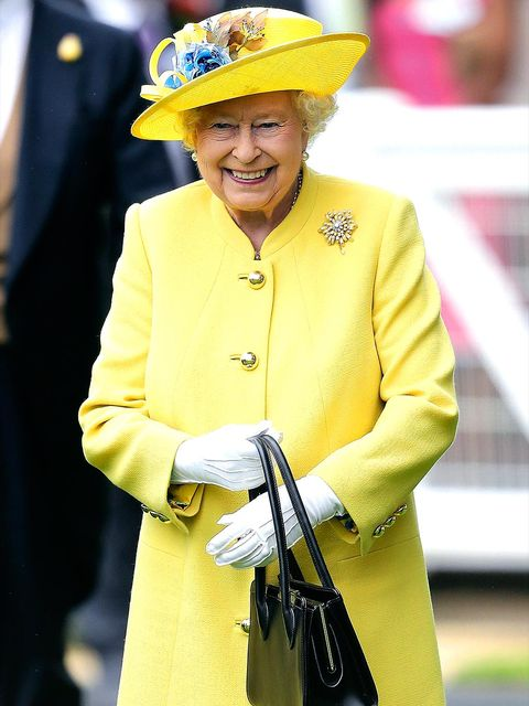 Yellow, Personal protective equipment, Headgear, Hat, Outerwear, Uniform, Fashion accessory, Smile,