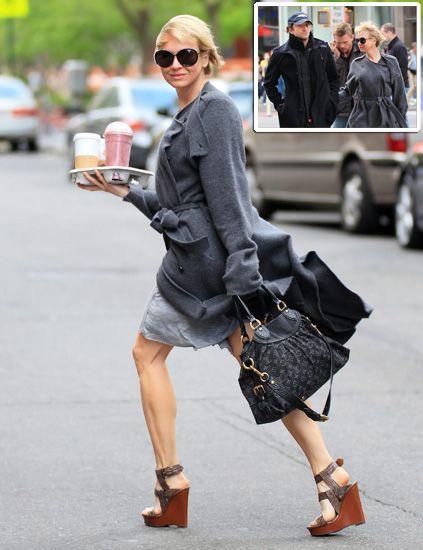 Clothing, Eyewear, Vision care, Brown, Textile, Bag, Human leg, Outerwear, Street, Sunglasses,