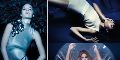 Joint, Beauty, Art, Flash photography, Waist, Chest, Trunk, Abdomen, Model, Collage,