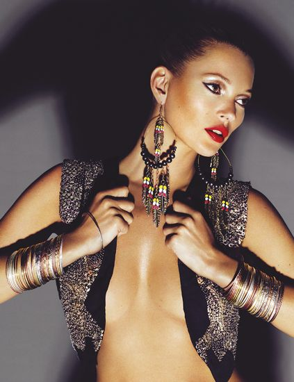 Skin, Earrings, Jewellery, Style, Eyelash, Fashion model, Wrist, Body jewelry, Beauty, Fashion accessory,