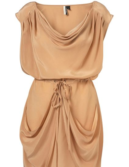 Product, Brown, Sleeve, Textile, Dress, One-piece garment, Orange, Peach, Amber, Tan,