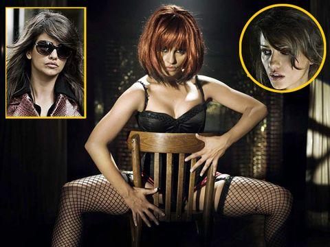 Hair, Head, Hairstyle, Sunglasses, Style, Bangs, Fashion, Thigh, Black hair, Earrings,