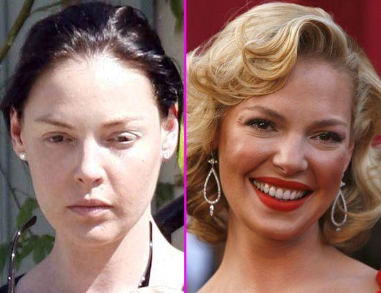 c872ef823 Defectos especiales: las famosas sin maquillaje no son nada