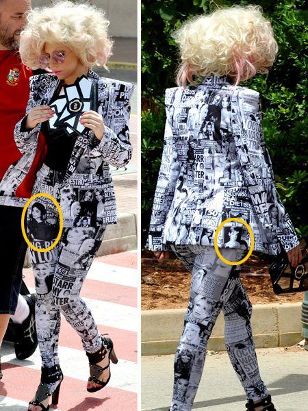 Textile, Pattern, Outerwear, Style, Street fashion, Fashion accessory, Fashion, Bag, Design, Blond,