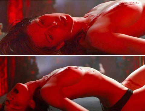 Lip, Red, Joint, Muscle, Thigh, Flesh, Hip, Briefs, Abdomen, Tights,