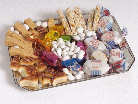 Cuisine, Confectionery, Baked goods, Sweetness, Dish, Medicine, Analgesic, Pill, Pharmaceutical drug, Finger food,
