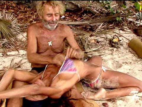 Fun, Skin, Sitting, Human leg, Mammal, Chest, Toe, Summer, Thigh, Undergarment,