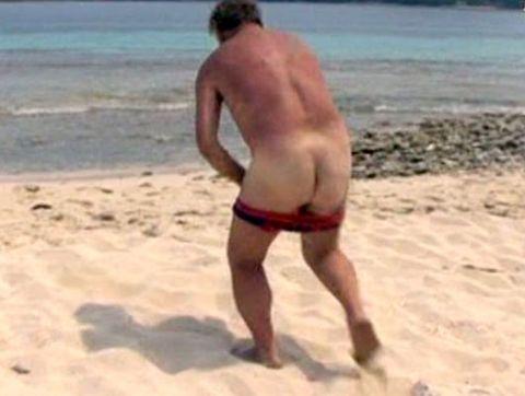 Fun, Human leg, Photograph, Joint, Coastal and oceanic landforms, Swimwear, Standing, Sand, Summer, Barechested,