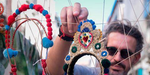 Hand, Tradition, Fun, Fashion accessory, Festival, Leisure, Vacation,